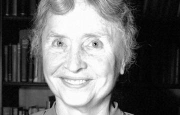 About Helen Keller…